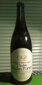 (512) Whiskey Barrel Aged Double Pecan Porter