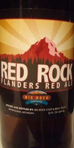 Big Rock Red Rock Flanders Red