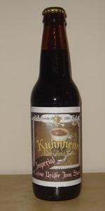 Kuhnhenn Imperial Crème Brûlée Java Stout