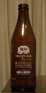 Traquair House Ale 1000th Brew