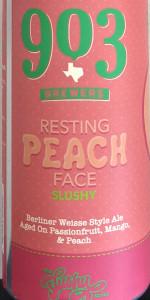 Resting Peach Face