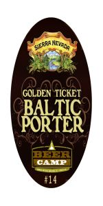Golden Ticket Baltic Porter - Beer Camp #14