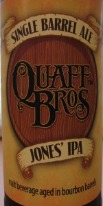 Quaff Bros Jones IPA