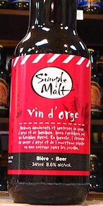 Simple Malt Vin D'Orge