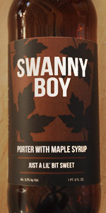 Swanny Boy Maple Porter
