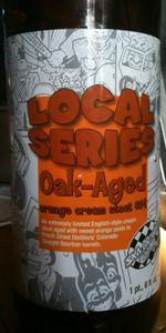 Oak Aged Orange Cream Stout #14