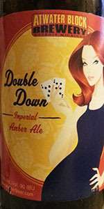Atwater Double Down Imperial Amber Ale