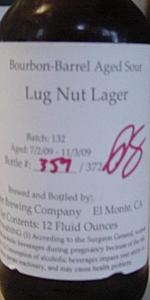 Bourbon-Barrel Aged Sour Lug Nut Lager