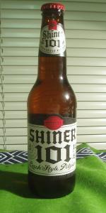 Shiner 101 Czech Style Pilsner
