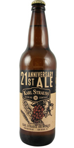 21st Anniversary Belgian Strong Ale Aged With Old Vine Zin Grapes