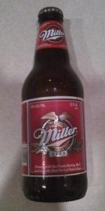 Miller Beer (Red Label)
