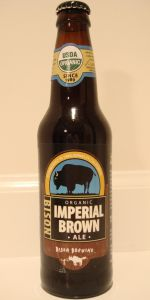 Bison Organic Imperial Brown Ale