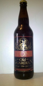 Stone Old Guardian Barley Wine Style Ale 2010