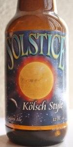 Summer Solstice Ale