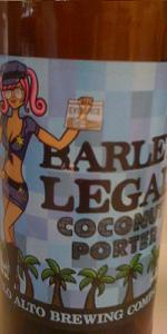 Palo Alto Brewing Barley Legal Coconut Porter