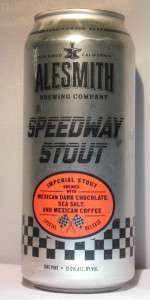 Speedway Stout - Mexican Dark Chocolate, Sea Salt And Mexican Coffee