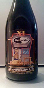 Bottleworks XI Anniversary Ale