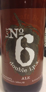 Lot No6 Double India Pale Ale