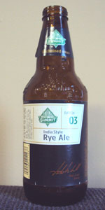 Summit India Style Rye Ale