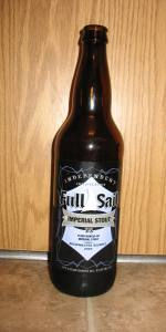 Imperial Stout (Brewmaster Reserve)