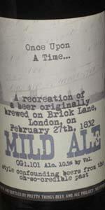 February 27th, 1832 Mild Ale