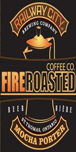 Railway City Fire Roasted Coffee Co. Mocha Porter