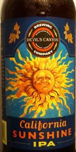 California Sunshine Rye IPA