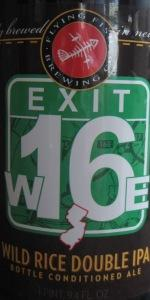 Exit 16 Wild Rice Double IPA
