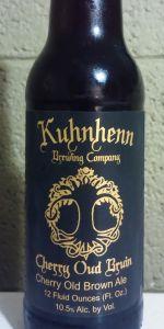 Kuhnhenn Cherry Olde Brune