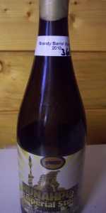 Hunahpu's Imperial Stout - Laird's Apple Brandy Barrel