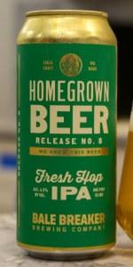 Homegrown Beer No. 8