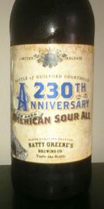 230th Anniversary American Sour Ale
