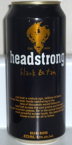 Headstrong Black & Tan