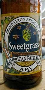 Sweetgrass American Pale Ale (APA)