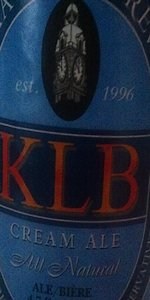 KLB Cream Ale