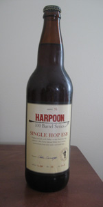 Harpoon 100 Barrel Series #31 - Single Hop ESB