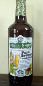 Samuel Smith's Pure Brewed Lager Beer