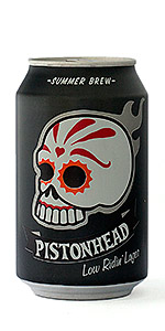 Pistonhead Summer Brew - Low Ridin' Lager