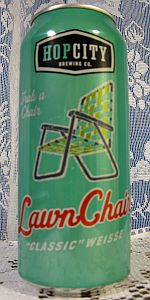"Lawnchair ""Classic"" Weisse"