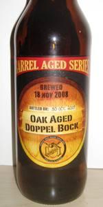 Oak Aged Doppel Bock