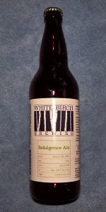 White Birch Indulgence Ale