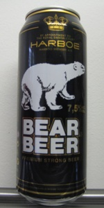Harboe Bear Beer Premium Strong Beer