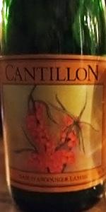 Cantillon Tyrnilambic Baie D'Argousier Lambic