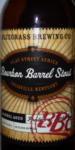 Bourbon Barrel Stout (Clay Street Series)