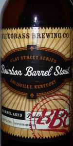 Bourbon Barrel Stout (Clay Street Series)