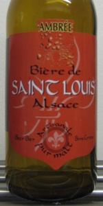 Ambrée-Bière De Saint Louis