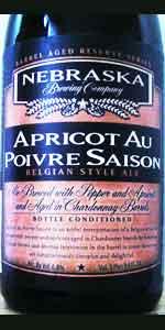 Apricot Au Poivre Saison - Reserve Series Aged In Chardonnay Barrels