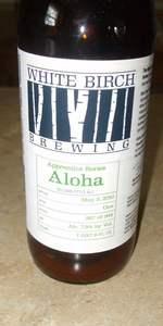 White Birch Apprentice Series Aloha Ale