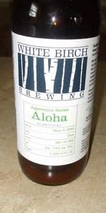 White Birch Apprentice Series Aloha Ale