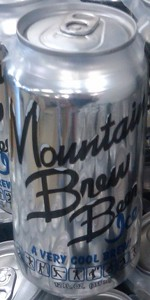 Mountain Brew Beer Ice